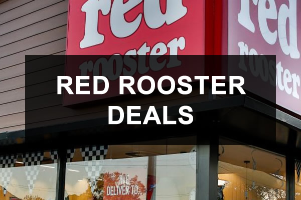 Red Rooster Vouchers, Coupons and Deals